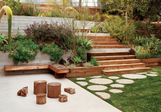 If You Need Some Inspiration How To Make One In Your Garden Take A Look At  The Following 15 Creative Round Stepping Paths That Will Make Your Garden  ...