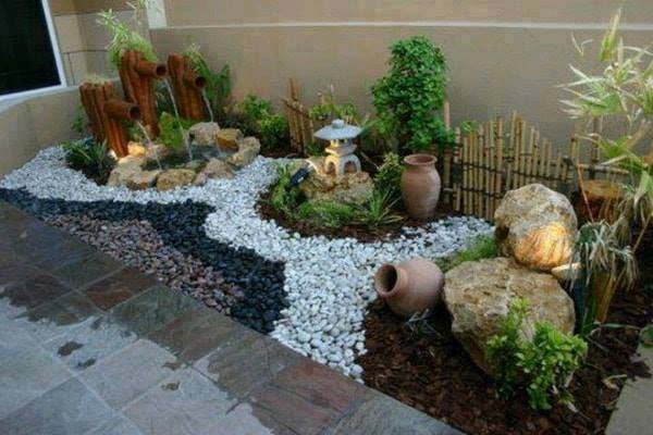 25 Cool Pebble Design Ideas For Your Courtyard Mr Mrs Magazine