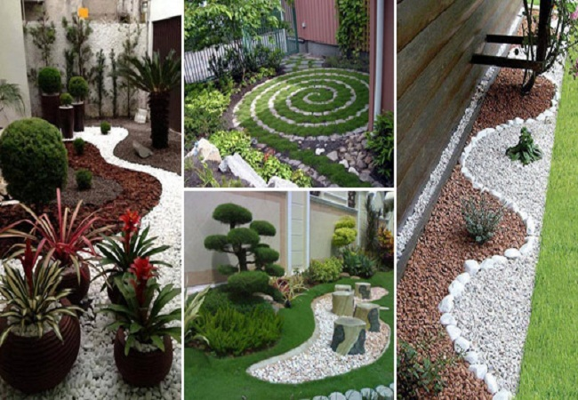 25 Cool Pebble Design Ideas For Your Courtyard | Mr Mrs Magazine