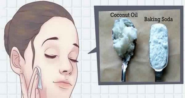 This is how to use coconut oil and baking soda to look 10