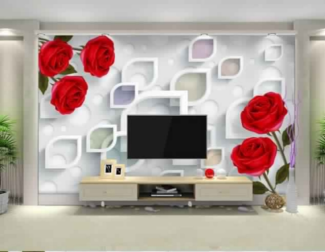 3d wallpaper for tv wall units that will make a statement 2