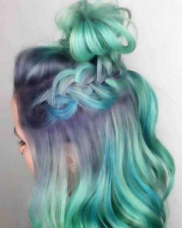 Color Melting Is The New Ombre Mr Mrs Magazine