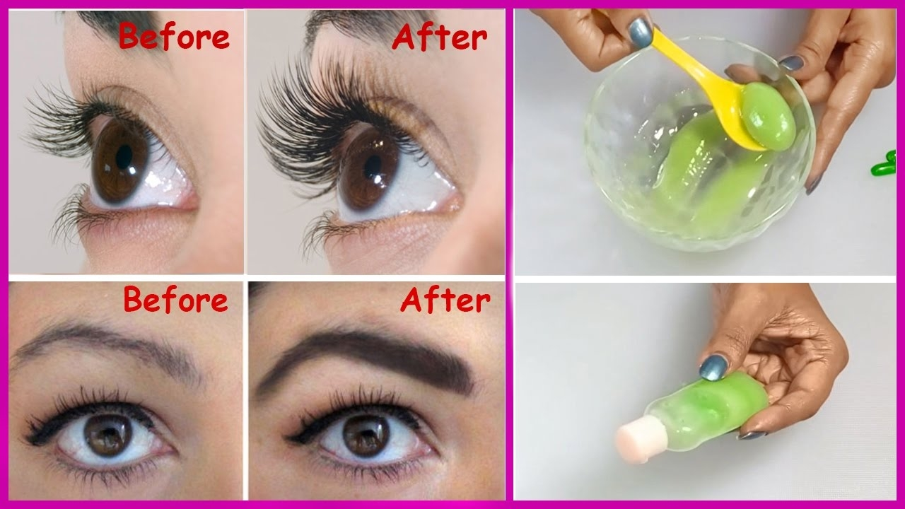 How To Grow Long Thick Eyelashes And Eyebrows In Few Days Mr Mrs